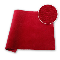 Cotton Velvet Velour DFR Burgundy 48 in / 122 cm