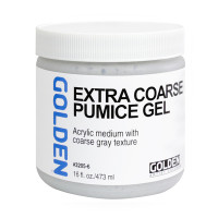 Golden Pumice Extra Coarse Gel