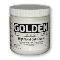Golden High Solid Gel - Gloss & Matte