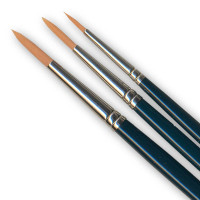 Russell and Chapple Series 25 Round Synthetic Long Handle